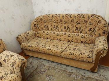 Мягкая мебель, качества отменная  диван и 2кресла. в Бишкек