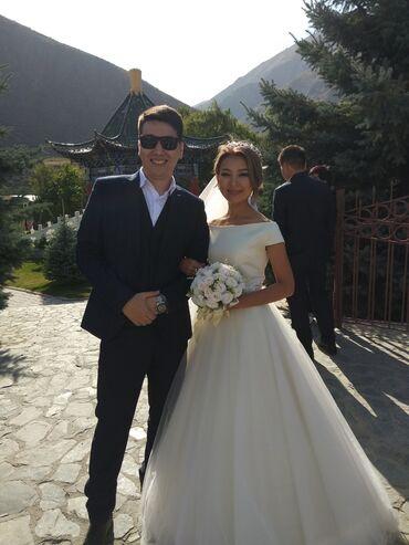 Свадебное платье на прокат Рост 157-160 смНа 42-44 размерНе