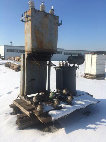 Электромонтажное оборудование - Бишкек: Трансформатор 100 - полностью в рабочем состоянии со всеми навесными и