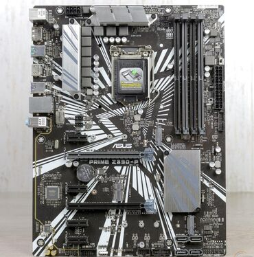 мат-плата-2011 в Кыргызстан: Asus Prime Z390-P в идеальном состоянии. Цена без торга. У мат платы