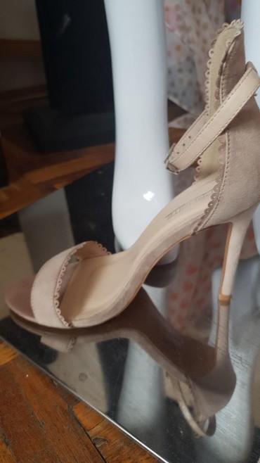 Sandale, puder boja dizina gazista 34cm stikla 10cm - Kraljevo