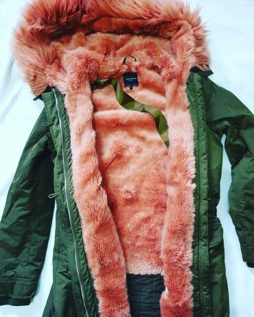 Куртки - Кыргызстан: Куртка парка в отличном состоянии от зара