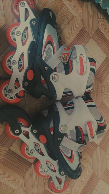 Ролики Передняя колесо светится Размер 34, но можно увеличить до