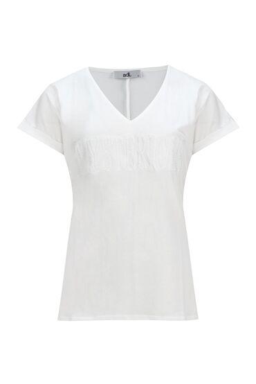 Futbolkalar - Bakı: ADL T-shirt ( L ) ( Yeni ) ( V-boyunlu )