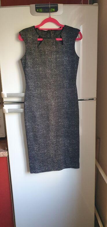 Платье Италия  Размер S Кожаные вставки Состояние нового платья