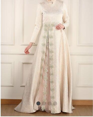 Шикарное турецкое платье,один раз одевала почти новая, размер турец 3