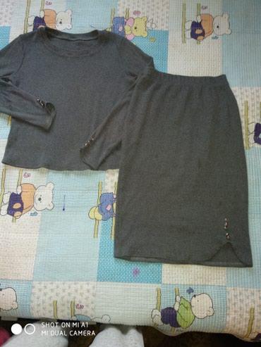 Трикотажную двойку - Кыргызстан: Продаю двойку, размер s, в хорошем состоянии