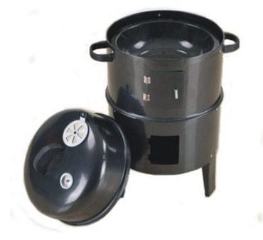 Кухонное оборудование. Три в одном гриль,  барбекю, коптильня. в Бишкек