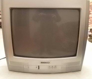Bakı şəhərində Beko 14 inch rəngli televizor. Işlək vəziyyətdədir. Az istifadə