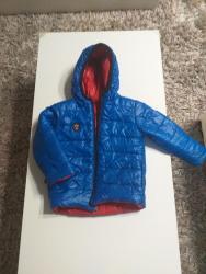 """Dečije jakne i kaputi   Ub: Decija jakna"""" beba kids"""" sa dva lica u odlicnom stanju.Duzina40-41cm"""