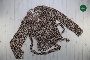 Блуза жіноча із леопардовим принтом BPC р.М    Довжина: 57 см Ширина п