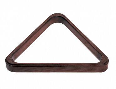 Бильярдные столы - Кыргызстан: Треугольник Т-2-1, цвет #4Диаметр шаров: 60/68 ммМатериалы : соснаВсе