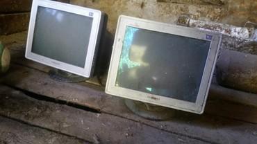 Компьютеры, ноутбуки и планшеты в Каинды: Продаю 2 монитора от компьютера рабочие,1 телевизор и стиральную