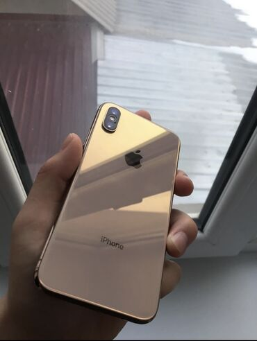 Мобильные телефоны - Бишкек: Б/У iPhone Xs 64 ГБ Золотой