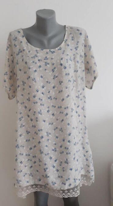 Haljina-please-italy - Srbija: Tunika -haljina Italy 44 cena 900viskozasirina ramena 44 sirina grudi
