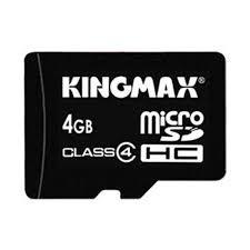 Kingmax Micro SD Card 4GB в Бишкек
