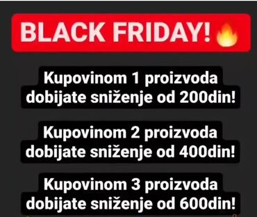 BLACK FRIDAY !!!! ISKORISTITE SUPER AKCIJU