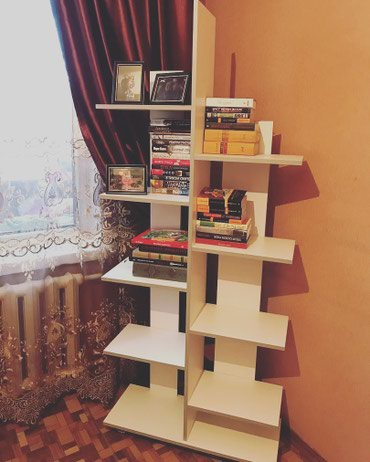 Полка | Напольная, Стеллаж | Офисная, Книжная, Для косметики