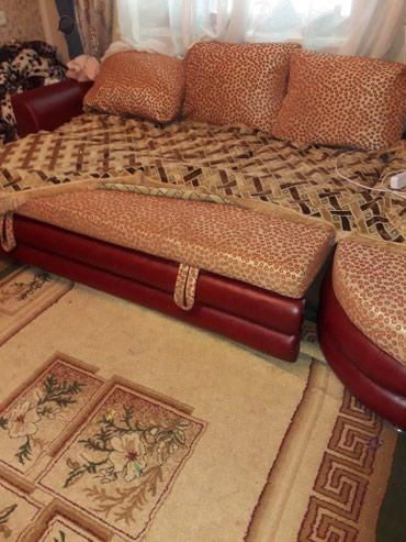 Угловой мягкий мебель б/у , в хорошом в Бишкек