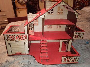 Продается домик для кукол  Новый деревянный  Город Джалал-абад