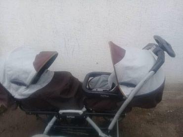 Продаю коляску для двойни.Не в Кара-Балта
