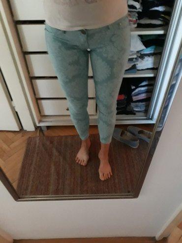 Tirkizne pantalone, nošene samo jednom. veličina odgovara za s, m i - Beograd