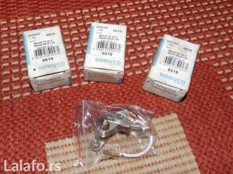 Dugmad za manzetne - Srbija: Doduco platine - 3 komada - 6619doduco platinska dugmad, nekorišćena