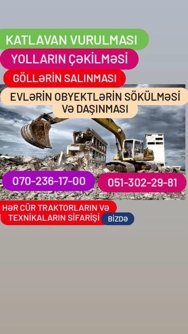 10541 elan: Hər cür söküntü işlərinizi Bizə əmanət edin!!! Whatsapplada əlaqə