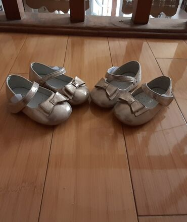 Детский мир - Джал: Туфельки для двойни. Цена за 2 пары. Размер 19