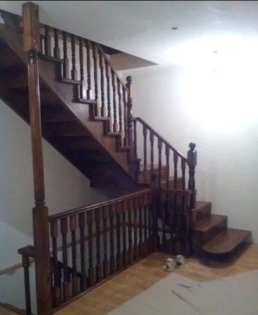 Деревянные лестницы в Бишкек