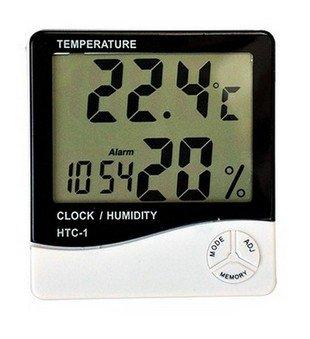 Термометр+гигрометр+часы+календарь+будильник - 300с в Бишкек
