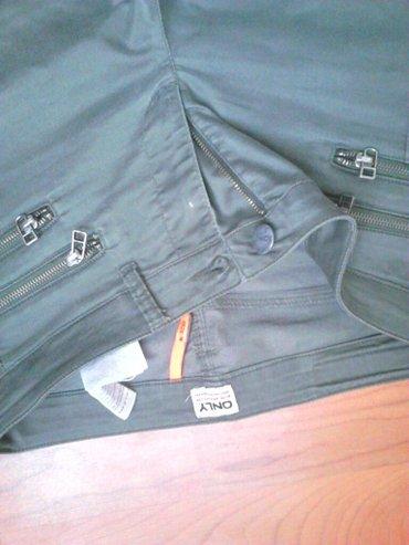 Only zelene ženske pantalone,velicina m. Moderne i lepo stoje - Pirot