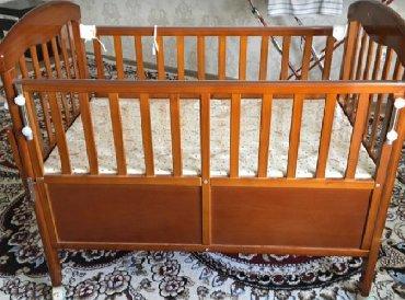 dverki dlja kuhonnoj mebeli в Кыргызстан: Продаю детскую кровать вместе с люлькой. Пользовались редко. Выглядит