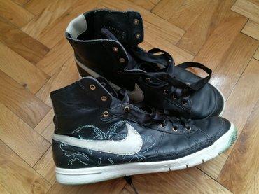 Nike duboke patike, broj 39, satenske pertle - Novi Banovci