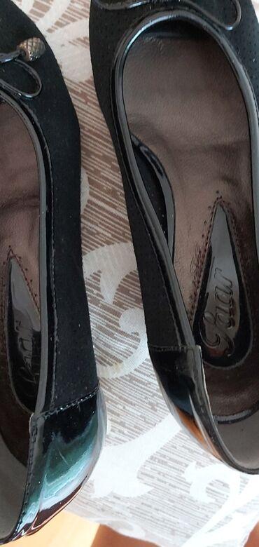Prolece leto - Srbija: Kozne cipele 36 NovePrelepe i udobne.Stiklica 5 cm.Savrsene za prolece