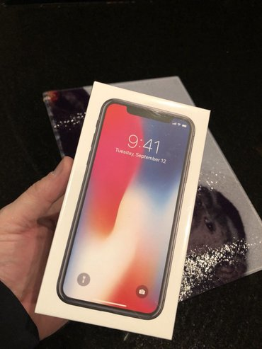 New Apple iPhone X 64GB Unlocked в Бишкек