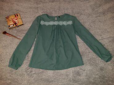 Рубашки и блузы - Кыргызстан: Очень милая блузка, размер стандарт, состояние идеальное, одевали 2