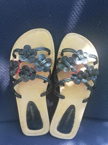 Papuče udobne sa malom potpeticom