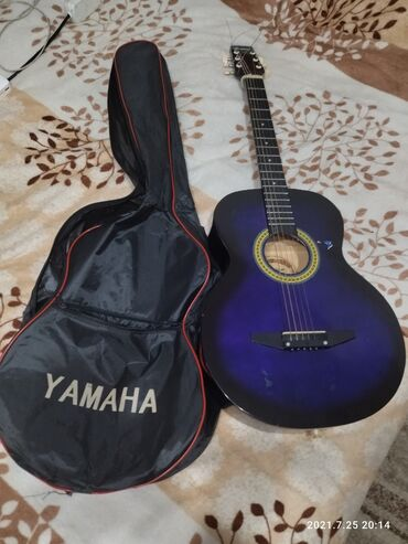 Спорт и хобби - Орто-Сай: Гитара шестиструнная с чехлом