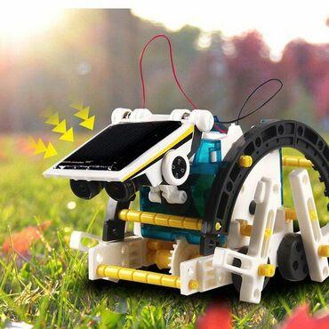 Робот на солнечных батареях solar 14 в 1+бесплатная доставка по