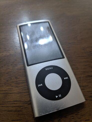 nano textile в Кыргызстан: Продаю iPod nano 5 на 8гб. Состояние 8/10, в комплекте только ipod