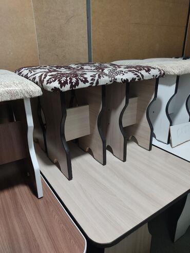 stol kuhannyj в Кыргызстан: Столы с табуретками  Стол и четыре табуретки Столы и стулья Размер сто