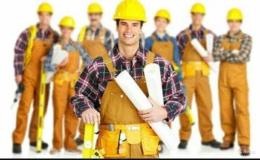 В строительную компанию требуются строители! в Бишкек