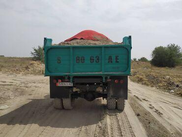 авто из германии в Ак-Джол: Зил доставка песок гравий отсев смесь щебень