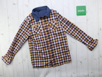 Детская рубашка в клетку Wojcik,р.146 Длина: 53 см Рукава: 48см Пог: 3