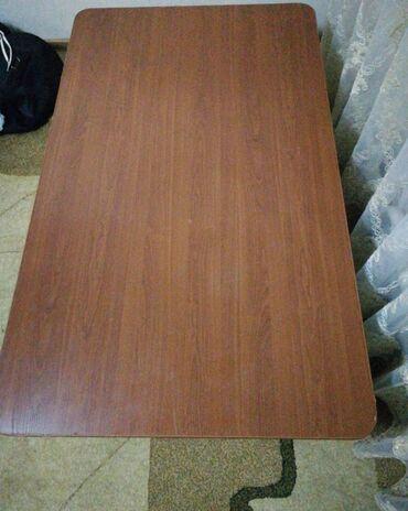 бу мебель in Кыргызстан | ДРУГАЯ МЕБЕЛЬ: Продаю деревянный стол в отличном состоянии ширина 91см длина 150см вы