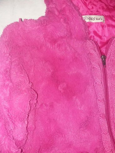 Prelepa jakna za devojcice. vel.pise 14 ali realno je manja - Paracin