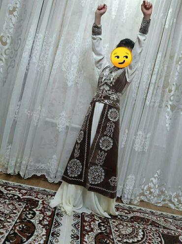 Продаю платье на кыз узатуу, одевала один раз размер 44 цена 2500