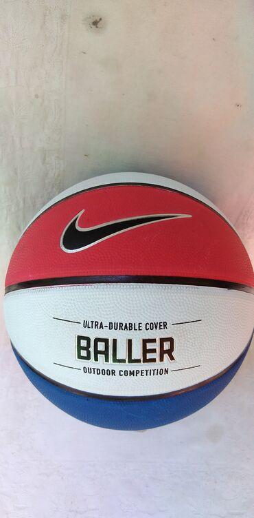 Kosarka - Srbija: Lopta za kosarku Nike Baller br.7,ocuvana
