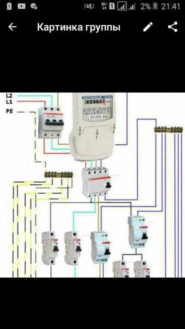 Электрик   Установка щитков, Электромонтажные работы, Установка люстр, бра, светильников   Стаж 1-2 года опыта